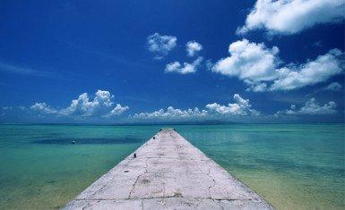 Playas en Okinawa, Japón