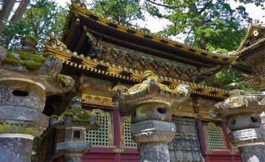Templo de Toshogu santuarios sintoístas