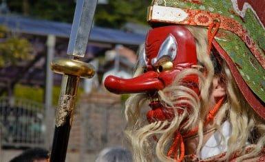 Resultado de imagen para criatura karasu tengu sin copyright