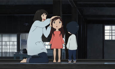 wolf children ame and yuki, top 10 película de anime