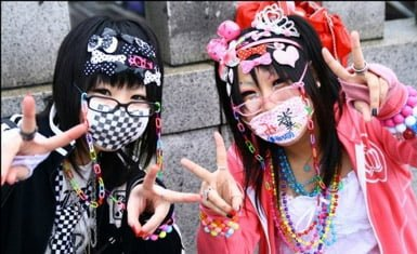 moda de Harajuku