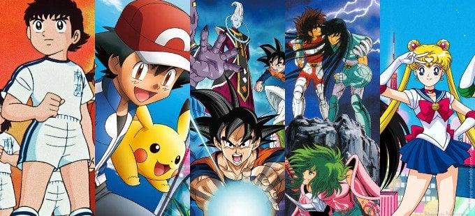 Algunos animes populares