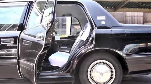 puerta de taxi automática
