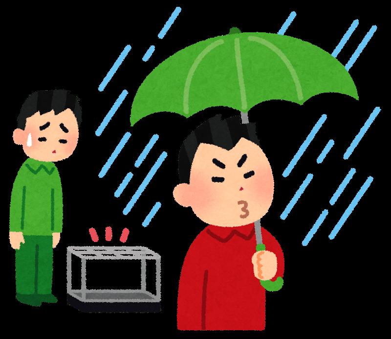 robo de paraguas