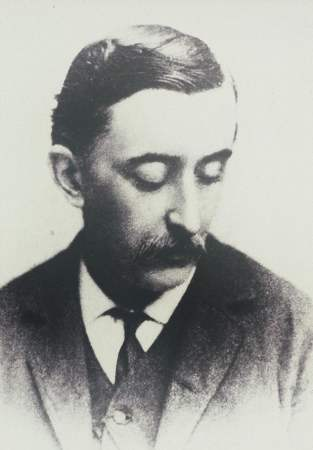 Retrato de Lafcadio Hearn