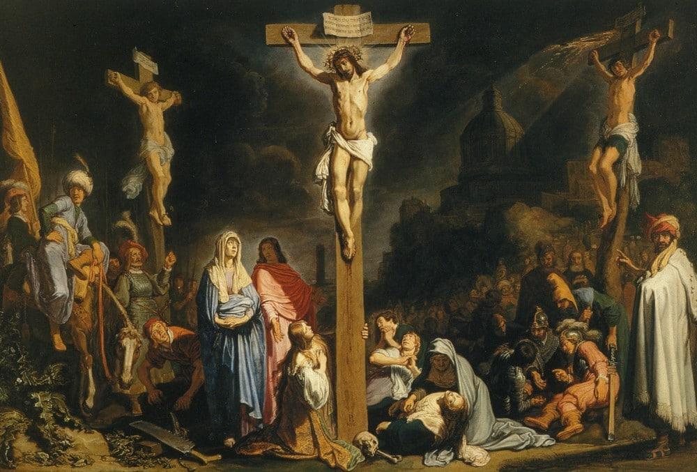 Resultado de imagen para crucificcion de jesus