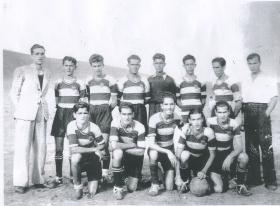 Club Hesperides años 40.