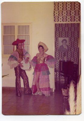 Año 1976 Los Caribe. Foto de Delia Vega