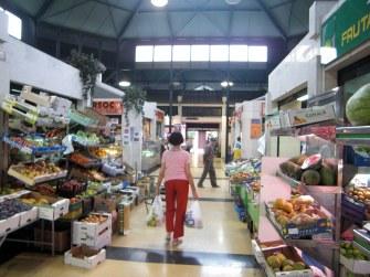 Vista interior del Mercado del Puerto, tras la última remodelación