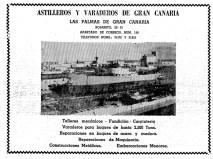 Anuncio aparecido en el Diario de Las Palmas el 22 de Diciembre de 1962
