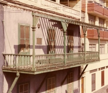 Antigua Balcón de la C/ Rosarito