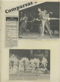 En la foto inferior está Roberto Herrera el presentador de televisión y Marina