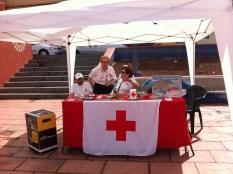 La Cruz Roja, siempre es un honor colaborar con esta organización Internacional...