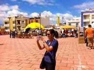 Carmen Anadón... de Participación Ciudadana del Ayuntamiento... un pilar fundamental en la organización de estos eventos...