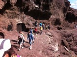 Visitando el Yacimiento de las Cuevas de Los Canarios