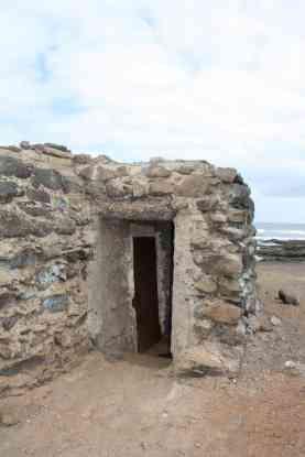 Entrada del Nido de ametralladora de La Punta