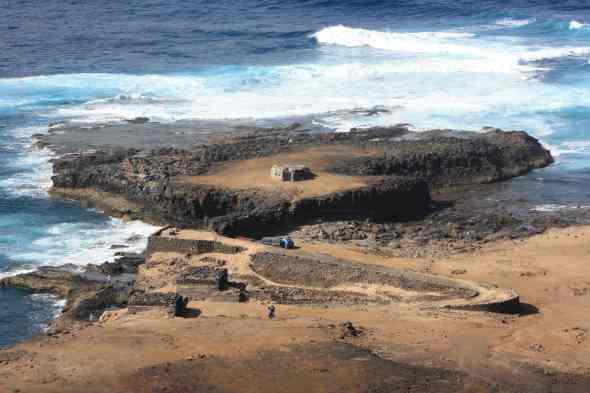 Nido de ametralladora de La Punta y Bunker