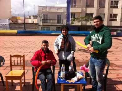 Saul, Mariola y Alexis...