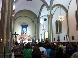 Foto de La Iglesia de la Luz y altar Virgen Nuestra Señora de la Luz 2