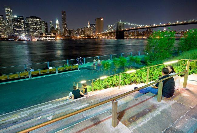 Brooklyn Bridge Park y su maravillosa vista del bajo Manhattan (Fotos)