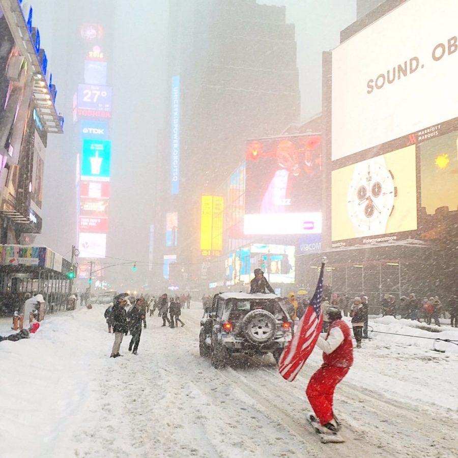 Times Square Foto: @Kellyrkopp