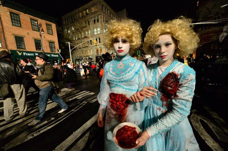 Los mejores disfraces del Halloween 2016 en Nueva York (Fotos)