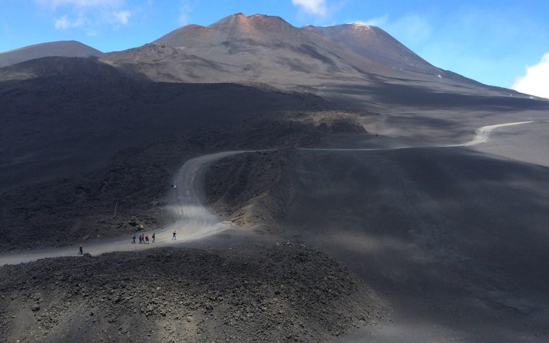 Viajar a Sicilia, el volcán Etna