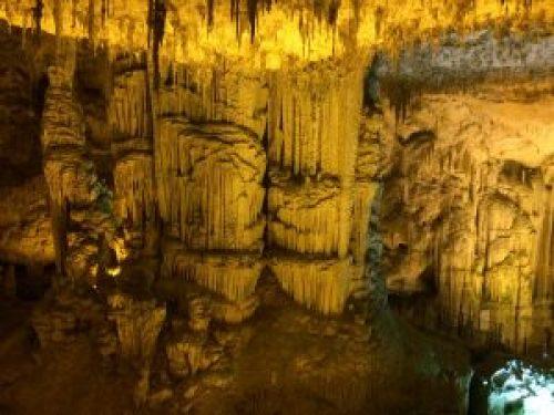 viajar a cerdeña, gruta de neptuno