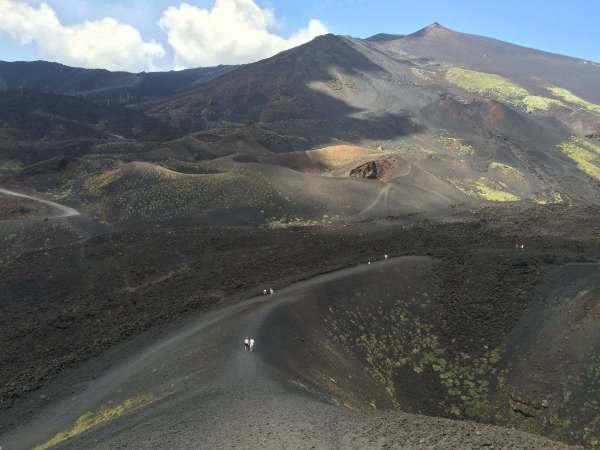 subida al Etna - viajar a sicilia