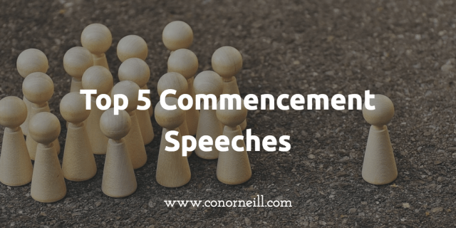 The Top 5 Commencement Speeches