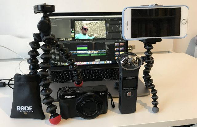 Conor's Camera & Audio Kit for Vlogging