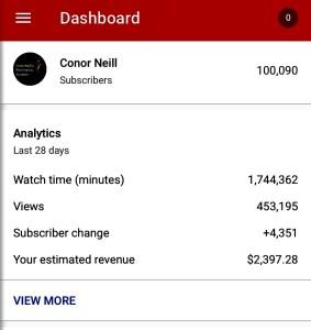 100K YouTube