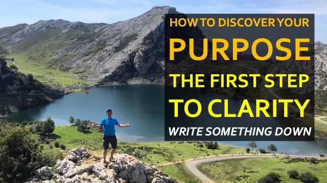Finding Purpose, step 1