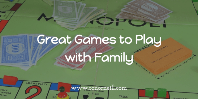 Great Games to play with Family