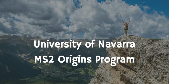 MS2 Origin Program | Pamplona
