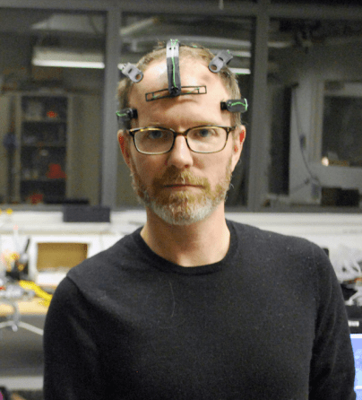 Joel-wearing-headset