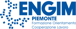 Logo ENGIM PIEMONTE - Formazione, orientamento, cooperazione, lavoro