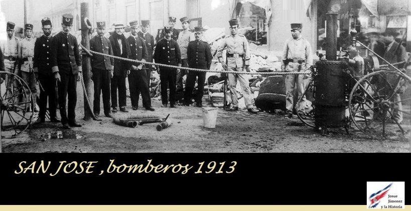 Resultado de imagen para fotografias antiguas de bomberos de costa rica