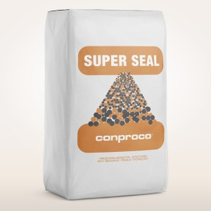 50 pound bag of Super Seal to stop below grade water infiltration