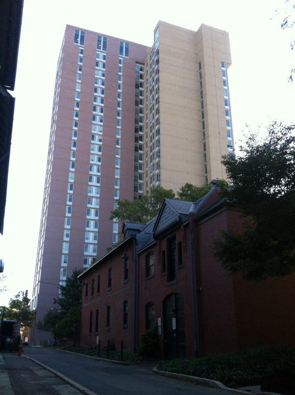 Newly M3P refaced concrete building.