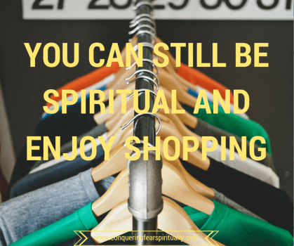 Shopping and spirituality