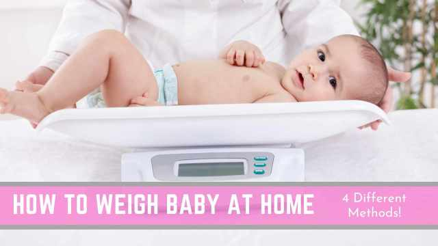 How to Weigh Baby at Home (All Methods Explained!) - Conquering