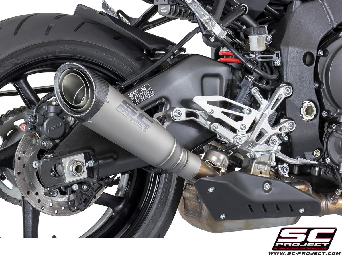 sc project exhaust yamaha mt10 fz10 abs s1 silencer 2016 2018