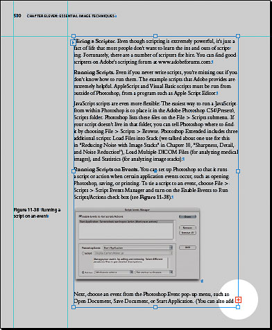 On the last page of the document, there is overset text, but you want to edit many pages further back in the document.