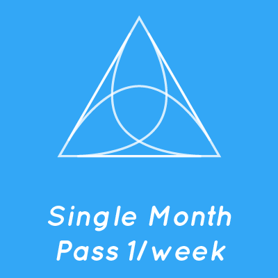 Single Month Pass 1/week