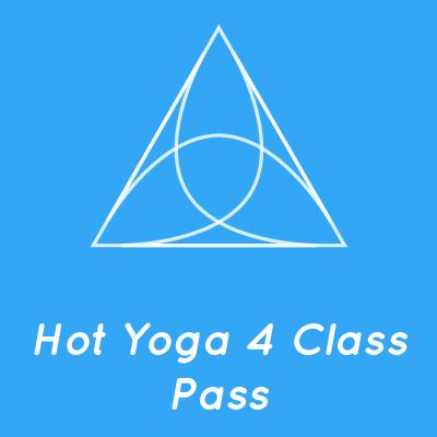 Hot Yoga 4 Class Pass