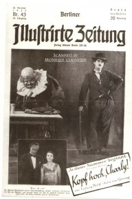 Conrad Veidt and Lil Dagover on the cover of Illustrierte Zeitung, 1925