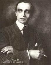 Young Conrad holding a cigarette