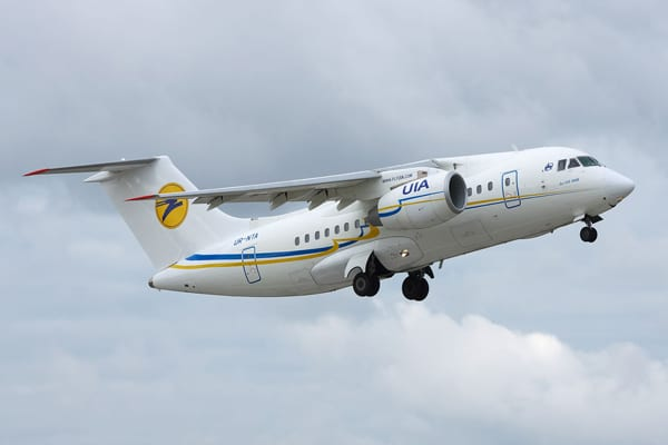 Fear of Flying image of an-148 airplane
