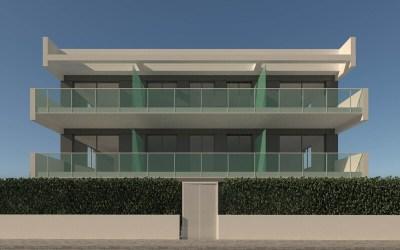 Apartamentos en 1ª línea en la Playa de Oliva